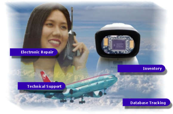 Electronic Repair and Technical Support Navigation Image